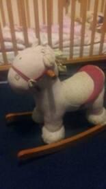 Girly Rocking Horse