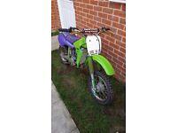 Kawasaki kx60 for sale not ktm cr yz