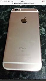 I phone 6s pink
