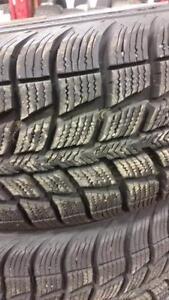 2 pneus d'hiver 215/65/16 Federal Himalaya WS2