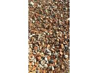Crushed stone concrete