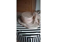 Lady G wedding hat