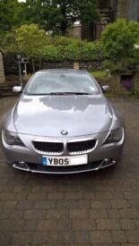 2005 BMW 6 Series 630i Auto