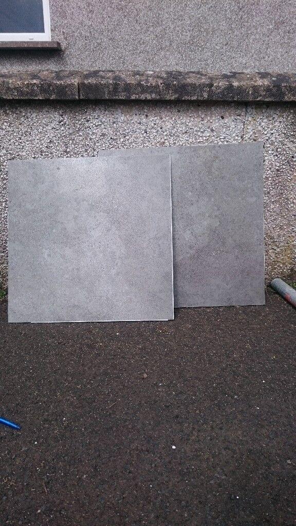 Job lot grey Lappato porcelain floor tiles 60x60cm | in Ballymena ...