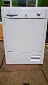 Indesit condenser tumble dryer 8kg