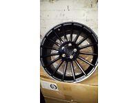 Mercedes amg c63 style a b c class alloy wheels 5112 audi s line amg line cla tyres wheels new set 4