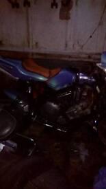 Yamaha v max 750