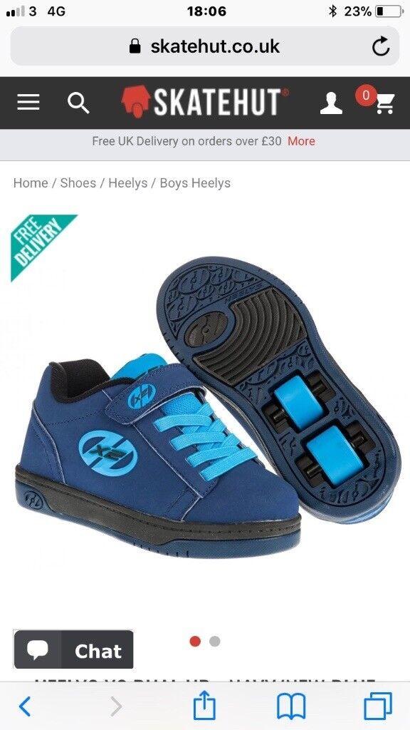 New Boys Heelys