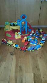 Car bundle with garage