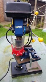 Power Craft Pillar Drill