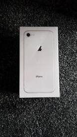 Iphone 8 256gb silver unlocked brand new sealed mobile phone phone