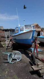Plymouth piolt 16ft with yanmar 8hp inboard and fishfinder, gps, forward steering etc no trailer