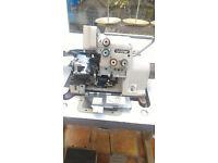BROTHER INDUSTRIAL OVERLOCKER 5 THREAD OVERLOCKER SEWING MACHINE MODEL MA4-B581