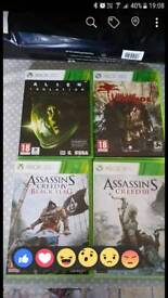 Bundle of XBOX 360 games