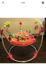 Baby girls pink jumperoo