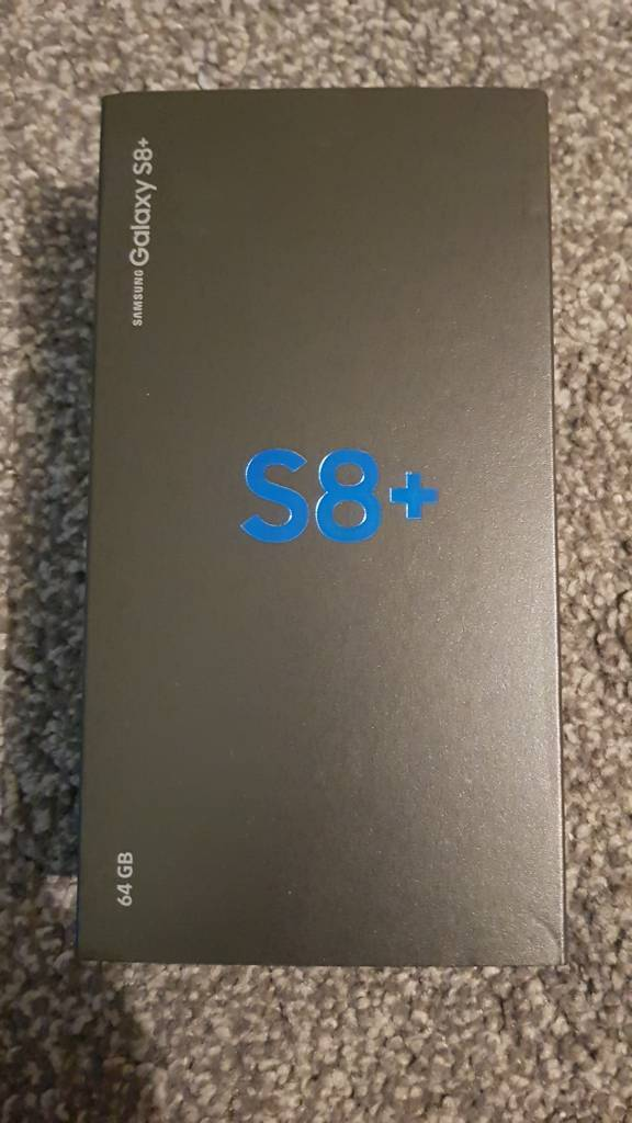 Samsung galaxy s8+ brand new sealed