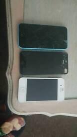 3 x I phones
