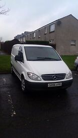 Mercedes Vito 111 CDI Compact Very low mileage!