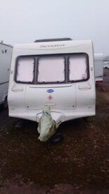 Bailey senator oklahoma 4 berth fixed bed caravan
