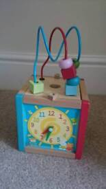 Wooden activity toy