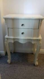 Lovely piece of cream furniture for sale