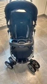 Graco Complete Travel System (includes buggy, car seat and travel cot)