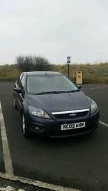 Ford Focus ZETEC 1.6, 5 Door Hatchback, Manual Transmission, petrol, mileage - 37667 (grey) 2009