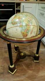Rare freestanding globe: The Franklin Mint, Millennium 2000