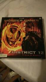 Hunger games board game.
