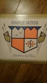 Simple Minds Sparkle in the Rain vinyl