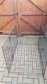 puppy pen / rabbit guinea pig run cage