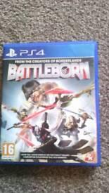 Battleborn PS4 game