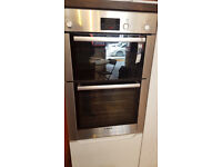 Bosch Serie 6 HBM13B550B Built In Double Oven - Brushed Steel - Ex-Showroom Display