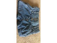 Girls next denim shorts age 6