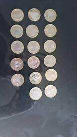 Error £2 coins