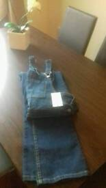 Dungarees NEW size 14