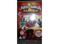 Power rangers dvds