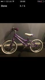Girls barracuda bike