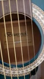 Brunswick guitar btk10/bl