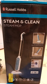 Russell Hobbs Steam and Clean Steam Mop, New, Unused