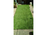 artificial lawn approx 3mtrs long x 1mtr wide