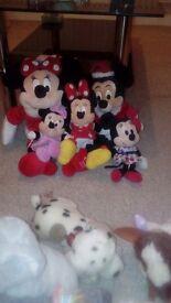 Minnie mouse teddys
