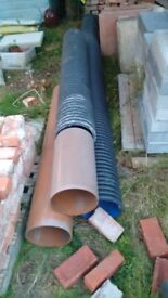 Drainage pipes 9 inch - Several lengths