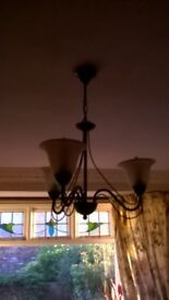 for sale: lounge light fitting