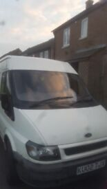 * Black marks are on camera lens* Ford transit lwb