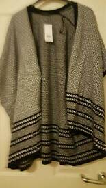 Black and white Dorothy Perkins Cardigan