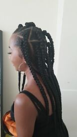 London Hairstylist for Afro, European & Asian Hair - Braids, Weaves, Natural Hair, Hair Extensions