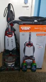 Vax for cleaning carpets