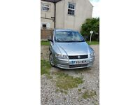 """fiat stilo good runner clean condition ideal first car 11months mot 17""""alloys including the spare."""