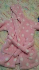 M&S dressing gown girls 1.5-2 years